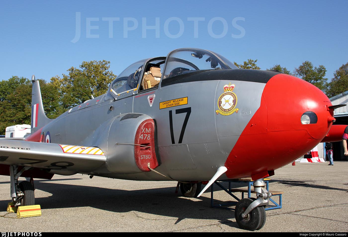 I-PROV - Hunting Percival Jet Provost T.3A - Private