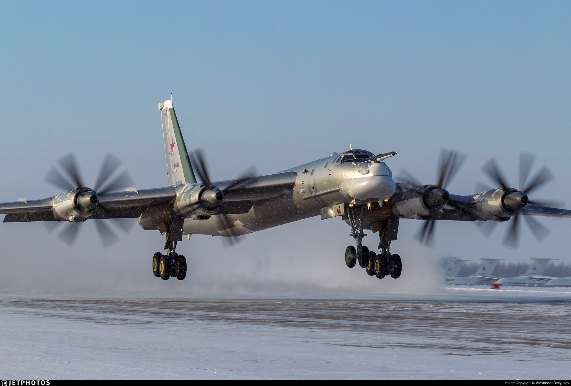 RF-94188 - Tupolev Tu-95MS Bear-H - Russia - Air Force