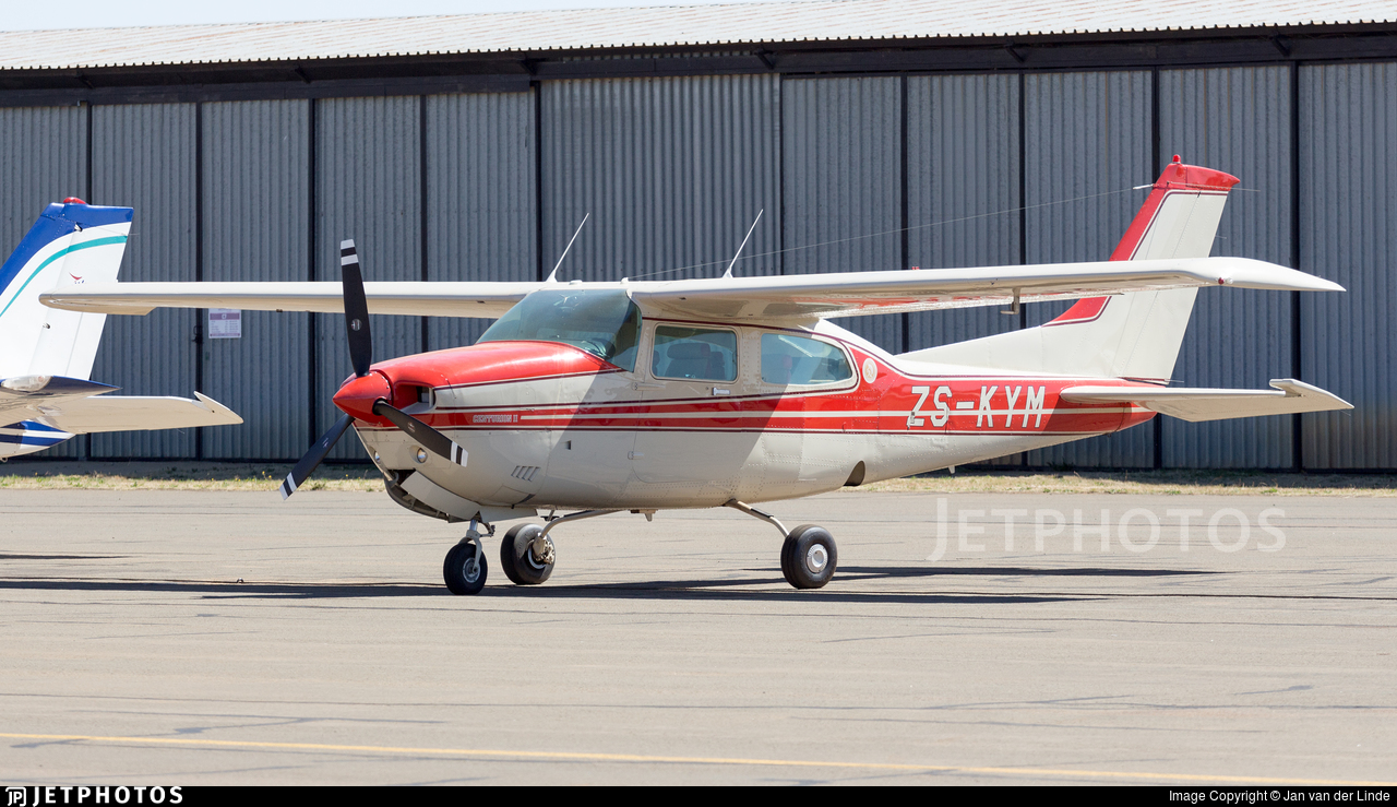 ZS-KYM - Cessna T210N Turbo Centurion II - Private