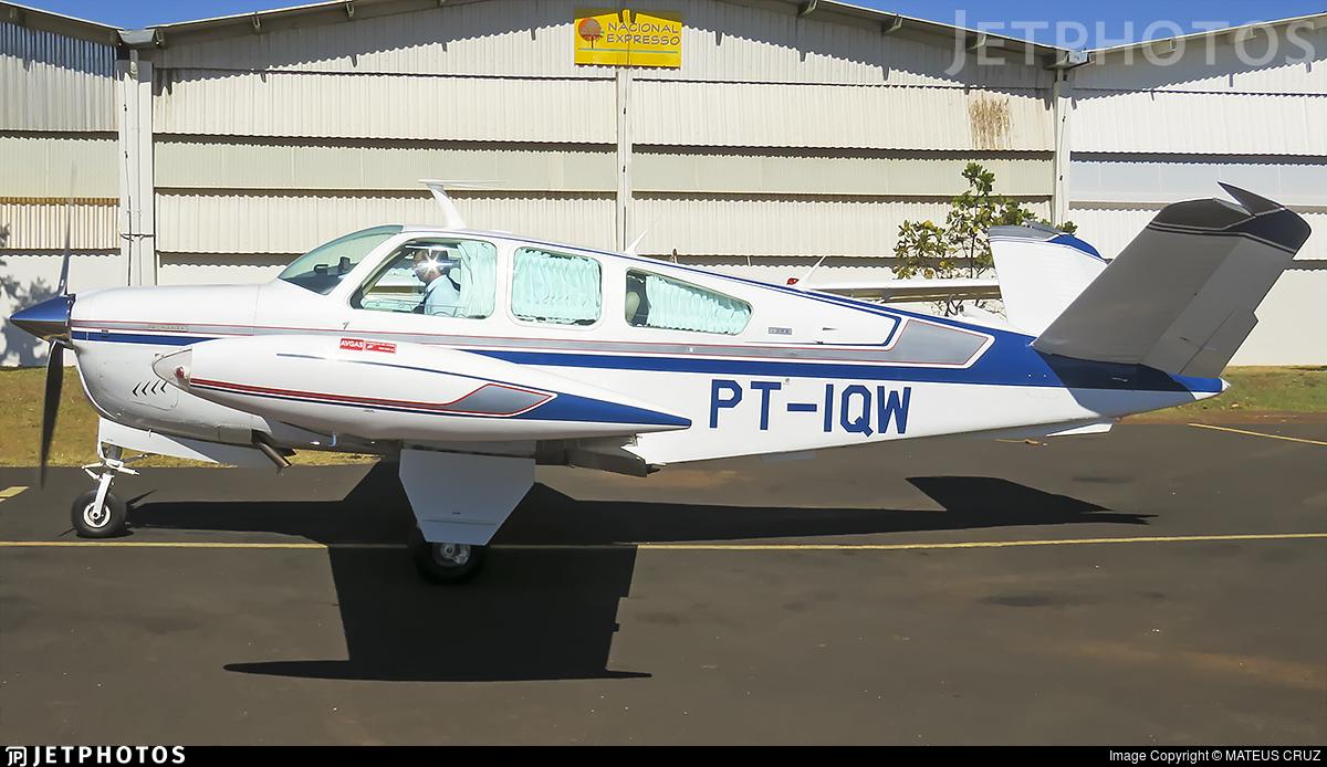 PT-IQW - Beechcraft V35B Bonanza - Private