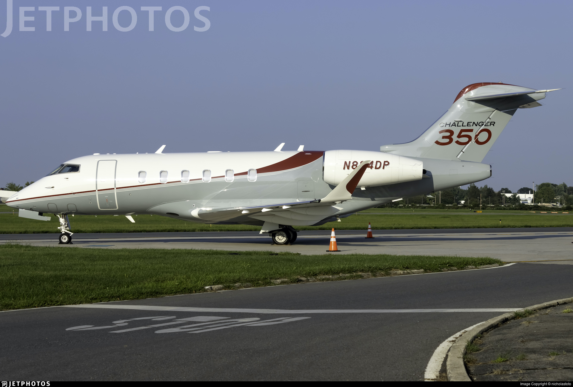 N824DP - Bombardier BD-100-1A10 Challenger 350 - Private
