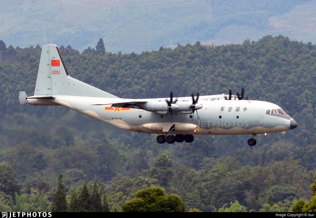 10051 - Shaanxi Y-9 - China - Air Force
