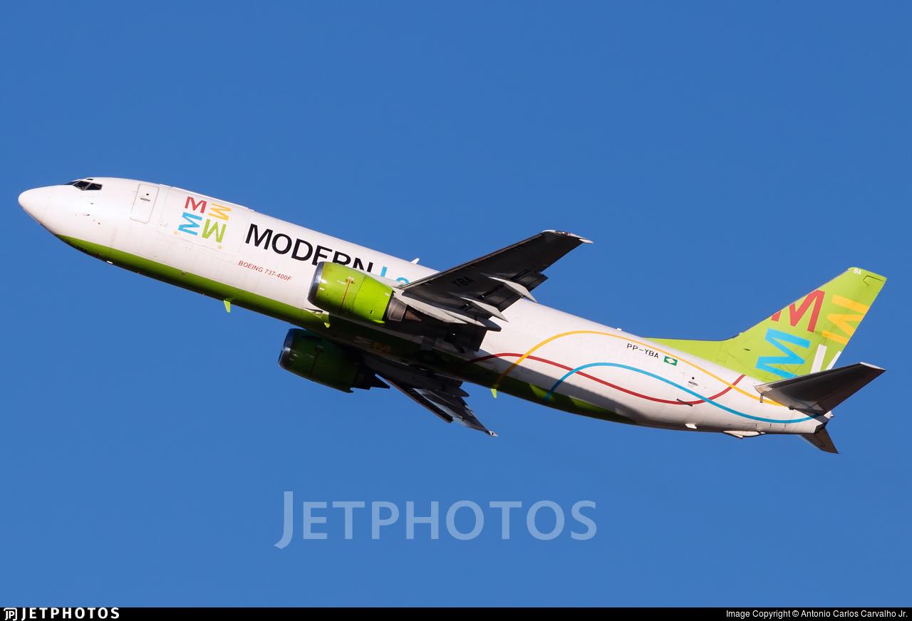PP-YBA - Boeing 737-4K5(SF) - Modern Logistics