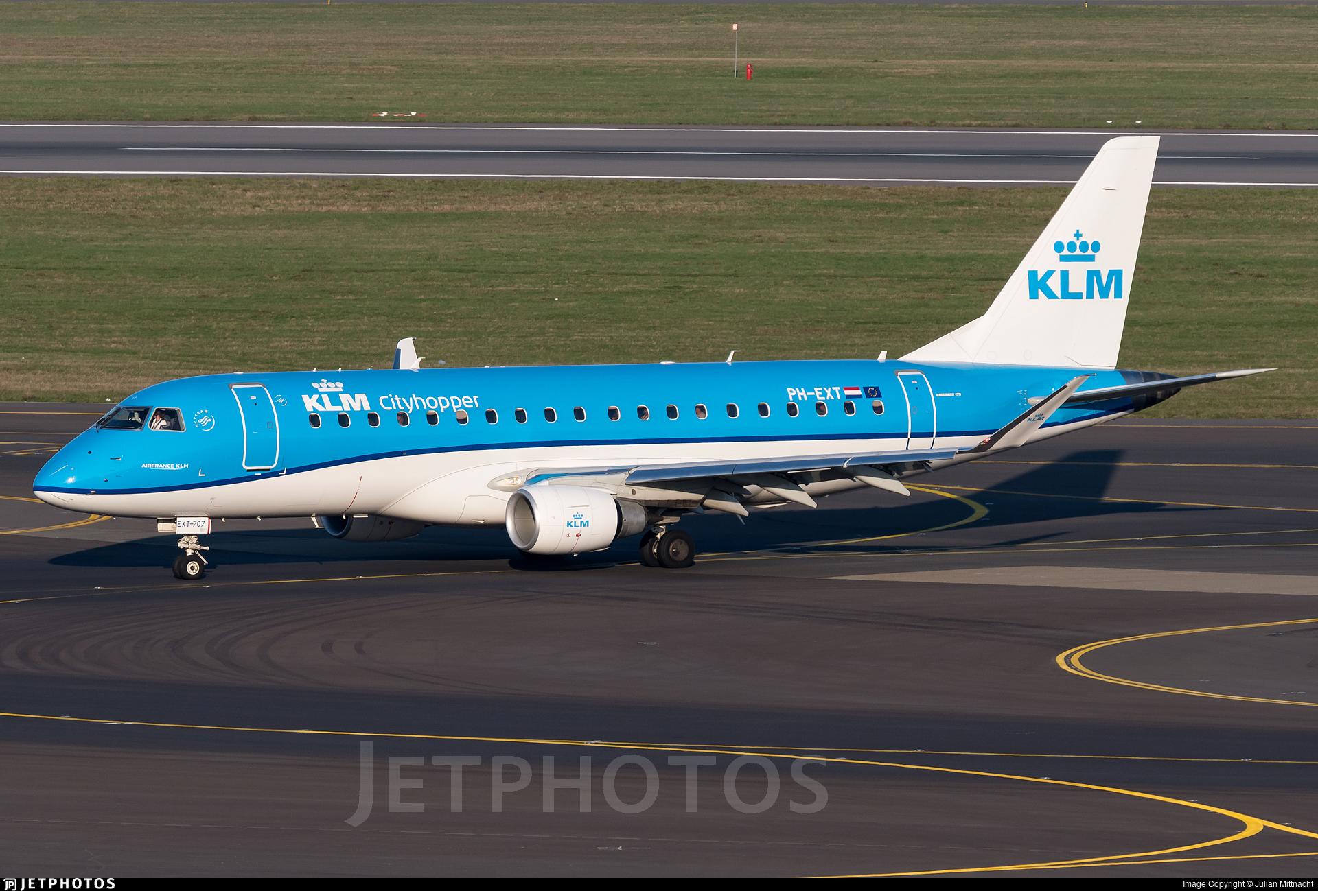PH-EXT - Embraer 170-200STD - KLM Cityhopper