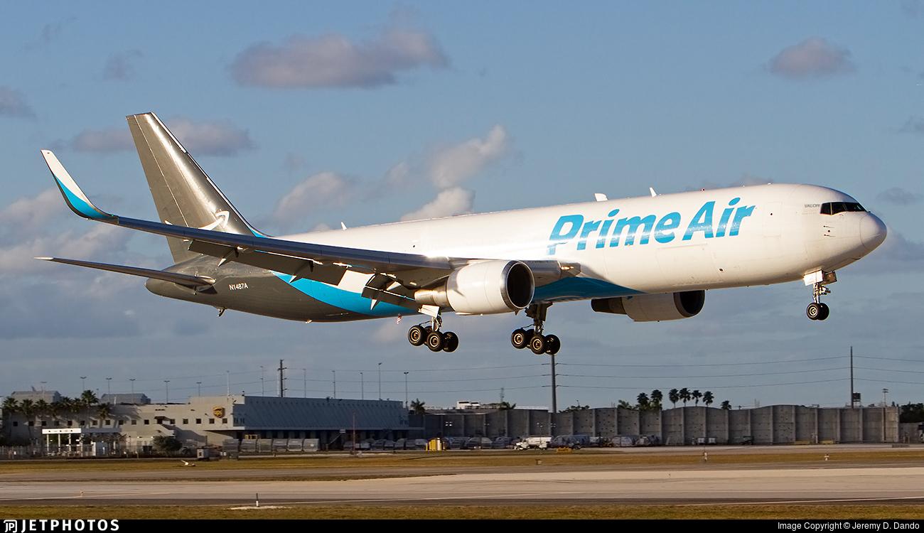 N1487A | Boeing 767-31K(ER)(BDSF) | Amazon Prime Air