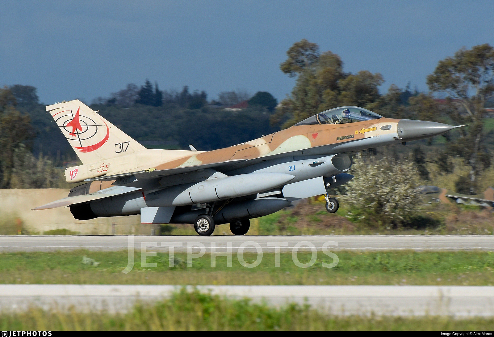 317 - Lockheed Martin F-16C Barak - Israel - Air Force