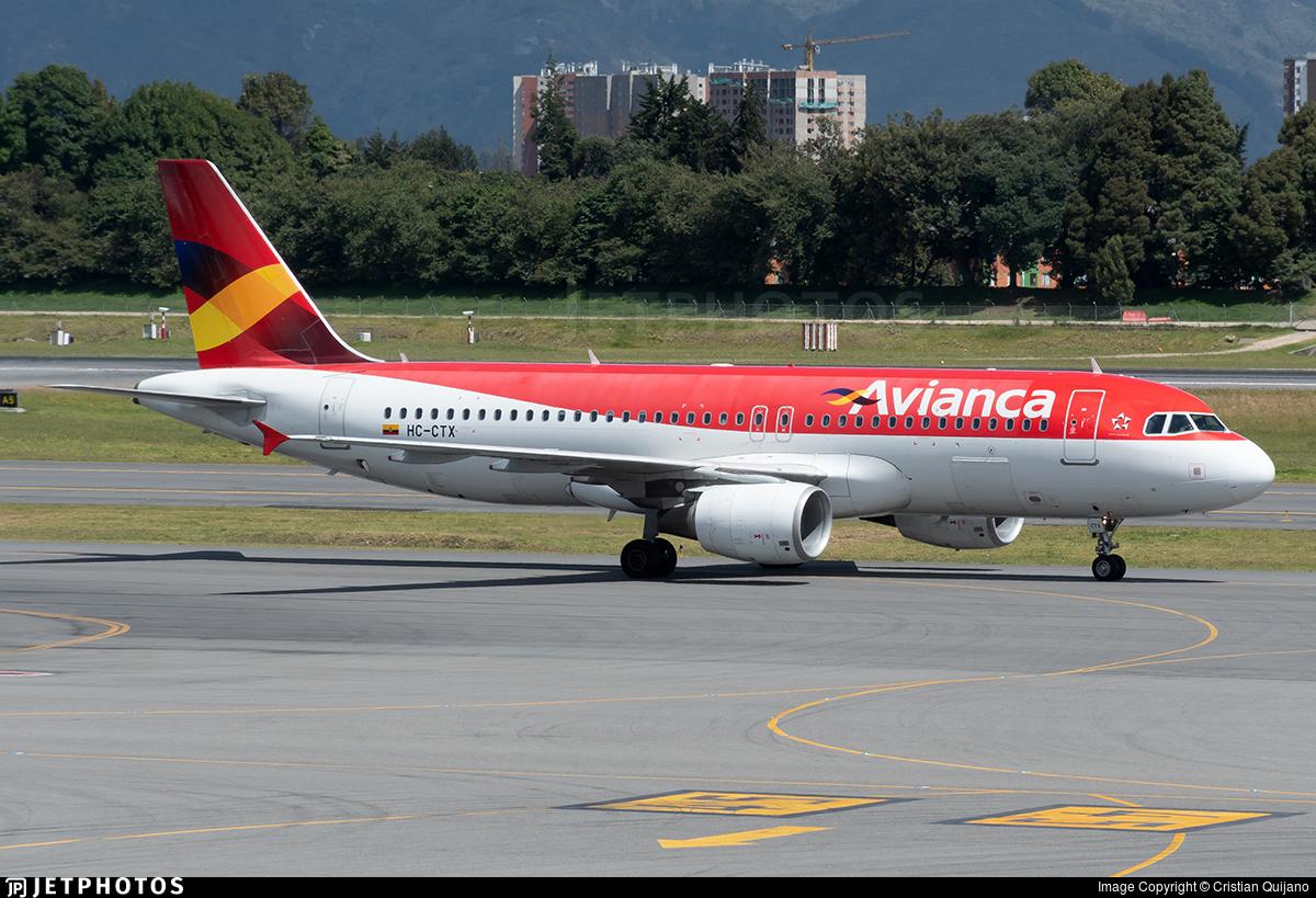 HC-CTX - Airbus A320-214 - Avianca Ecuador