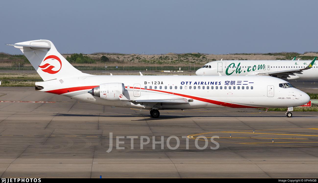 B-123A - COMAC ARJ21-700 - OTT Airlines