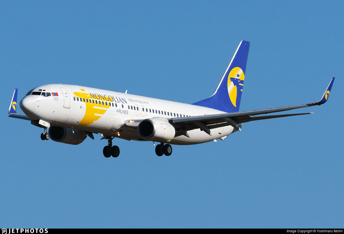 EI-CSG - Boeing 737-8AS - MIAT Mongolian Airlines
