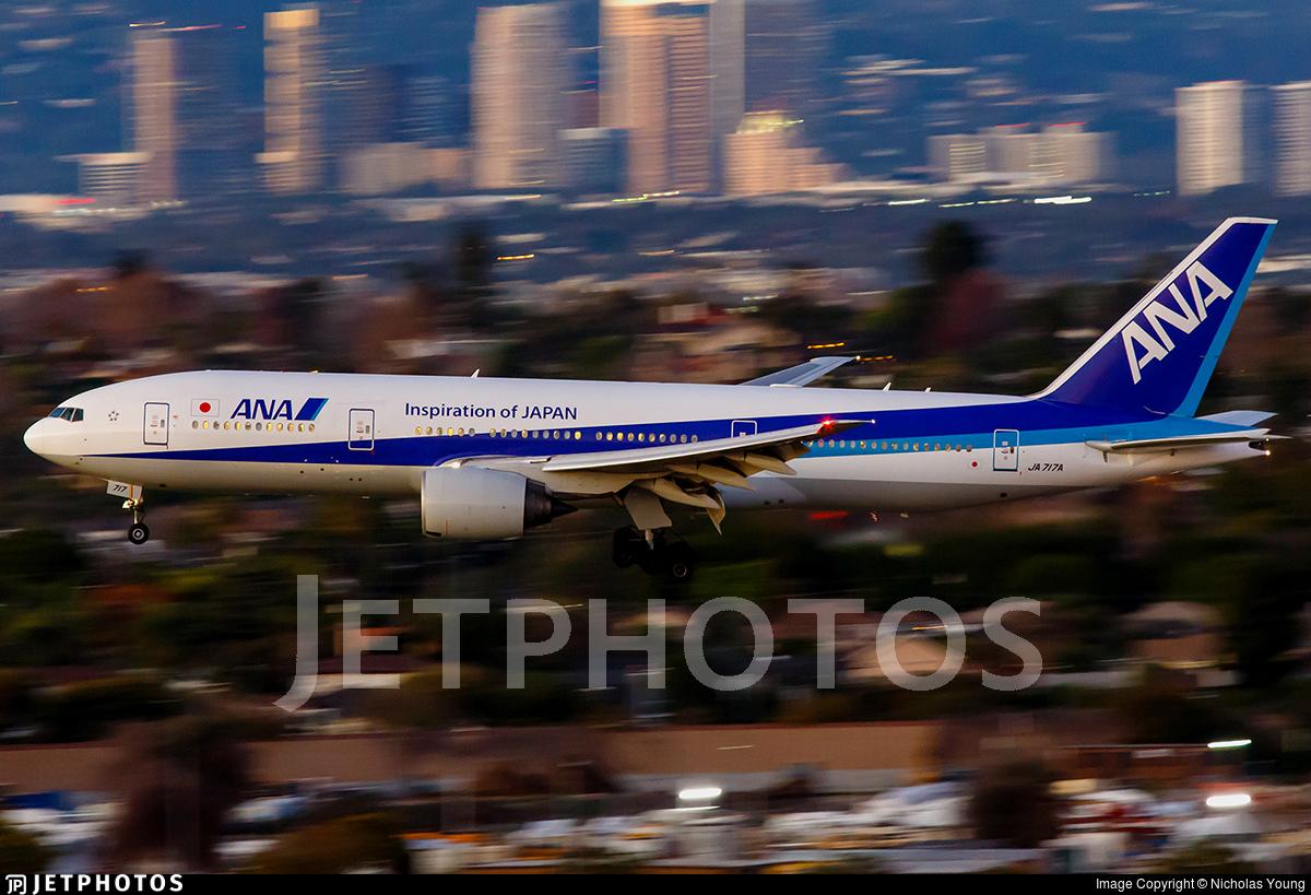 JA717A - Boeing 777-281(ER) - All Nippon Airways (ANA)