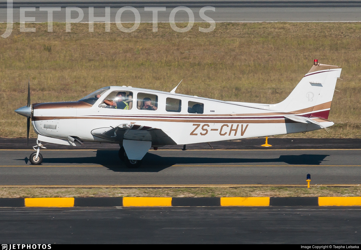 ZS-CHV - Beechcraft G36 Bonanza - Private