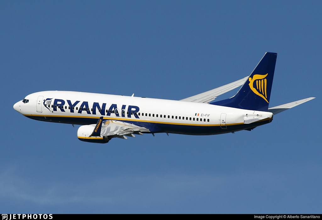EI-FIF - Boeing 737-8AS - Ryanair