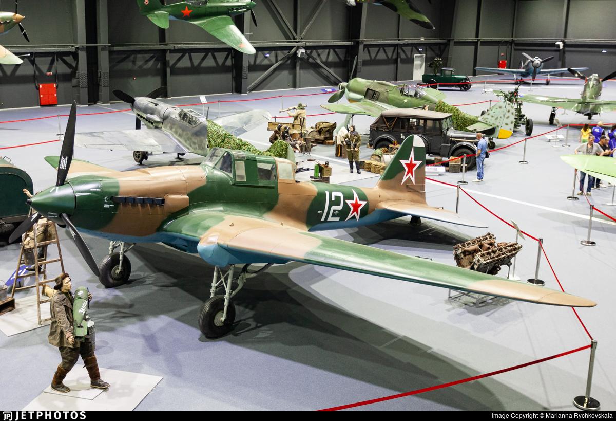 12 - Ilyushin Il-2m3 - Soviet Union - Air Force