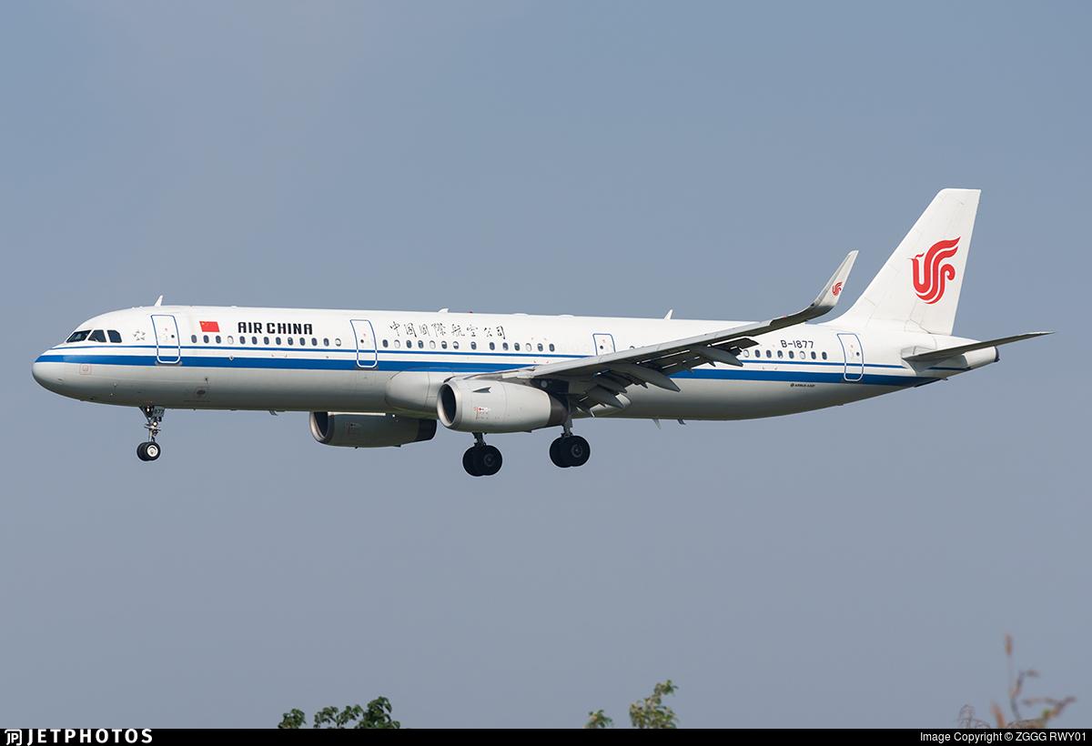 B-1877 - Airbus A321-232 - Air China