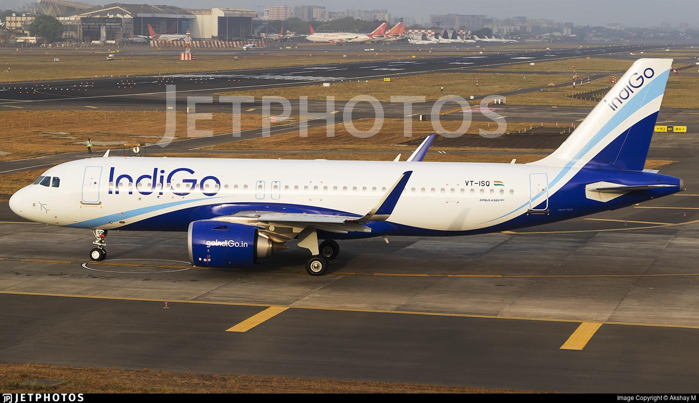 VT-ISQ - Airbus A320-251N - IndiGo Airlines