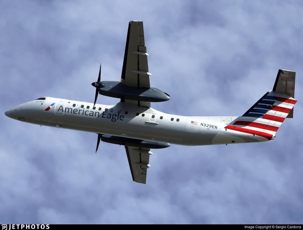 N329EN - Bombardier Dash 8-Q314 - American Eagle (Piedmont Airlines)