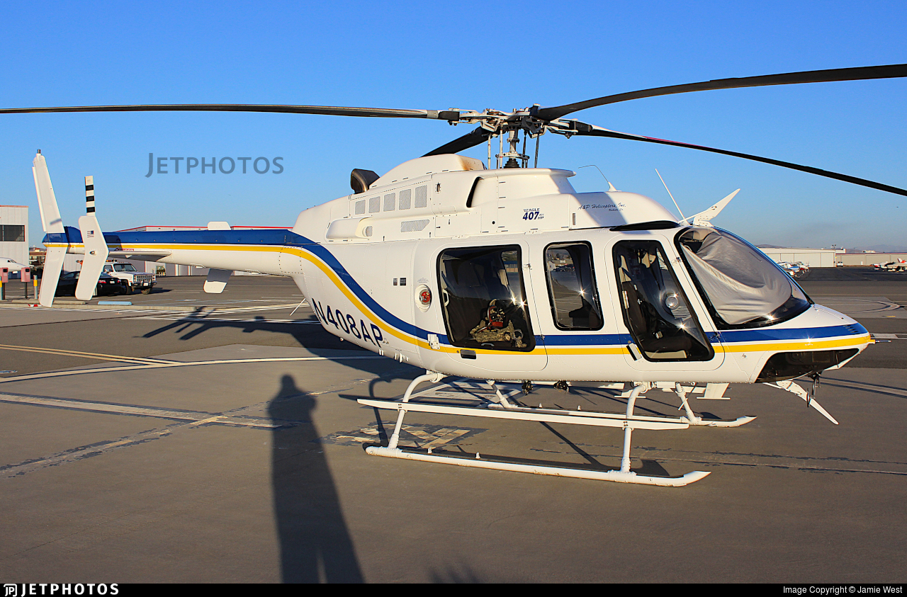 N408AP - Bell 407 - A&P Helicopters