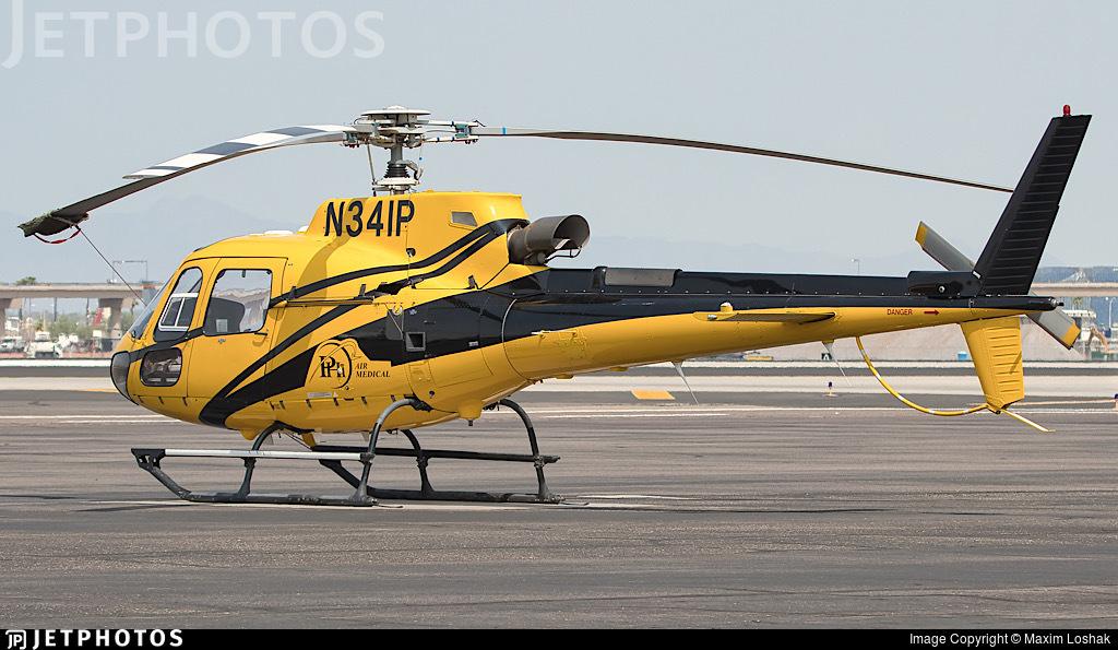 N341P - Eurocopter AS 350B3 Ecureuil - PHI Air Medical
