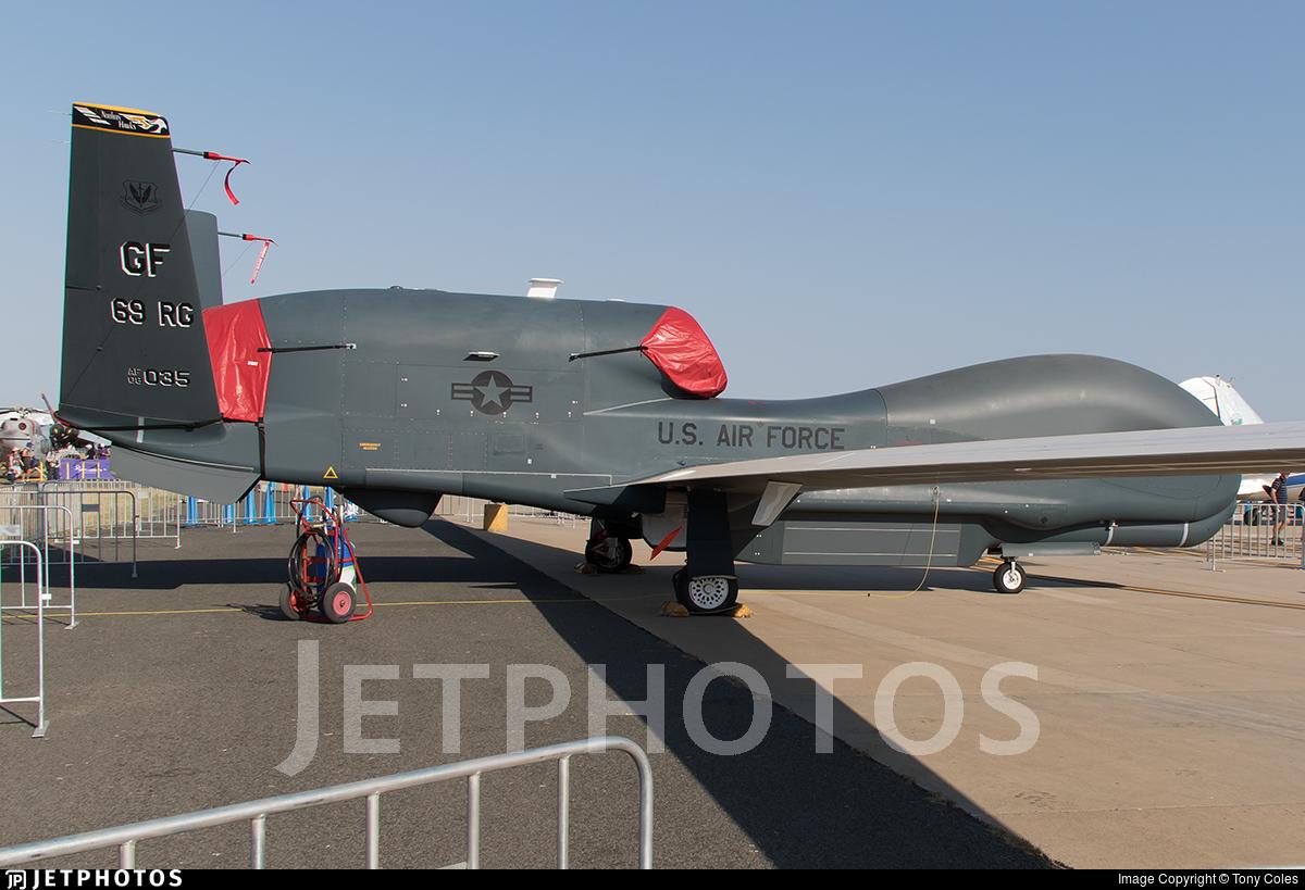 08-2035 - Northrop Grumman RQ-4B Global Hawk - United States - US Air Force (USAF)