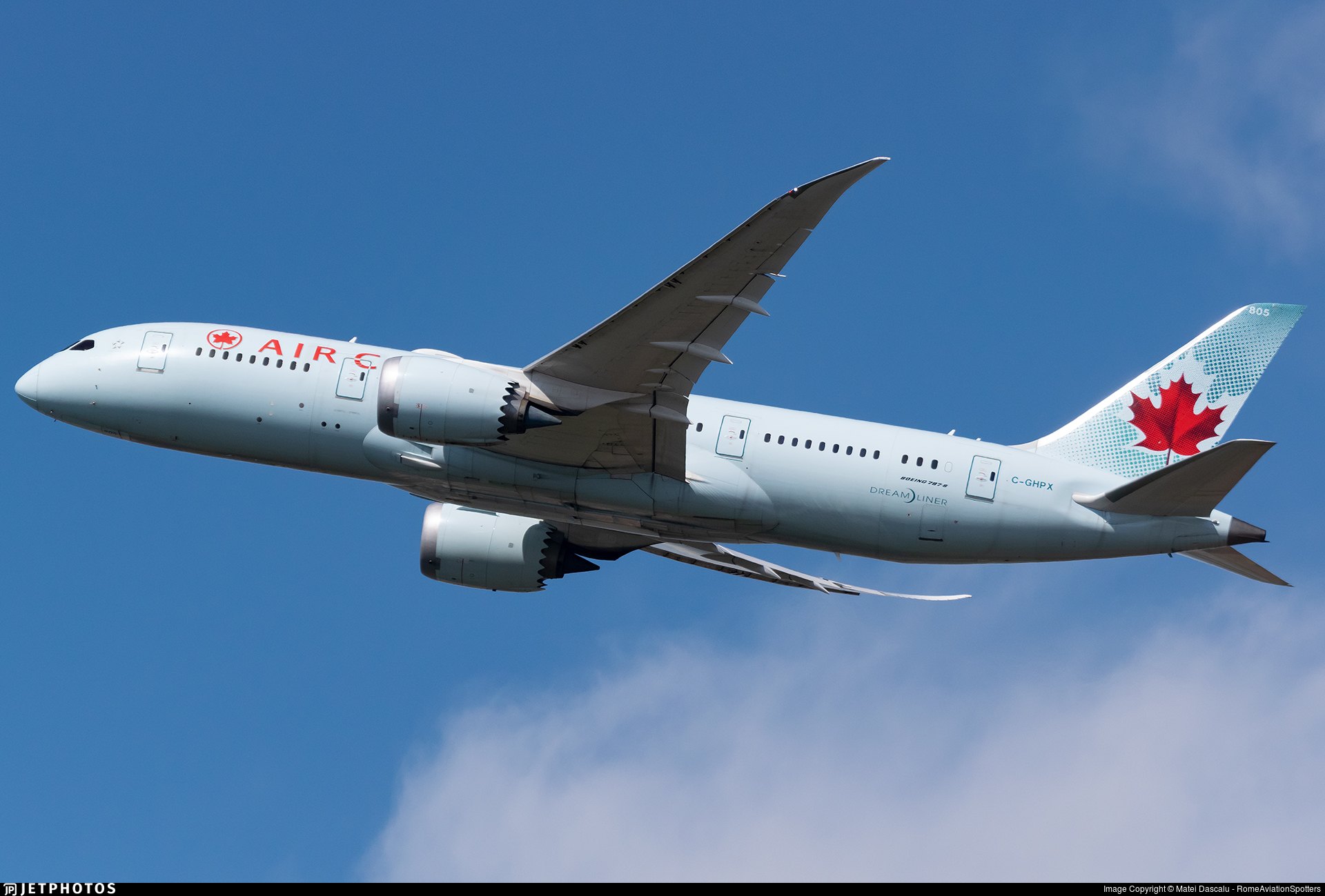 C-GHPX - Boeing 787-8 Dreamliner - Air Canada