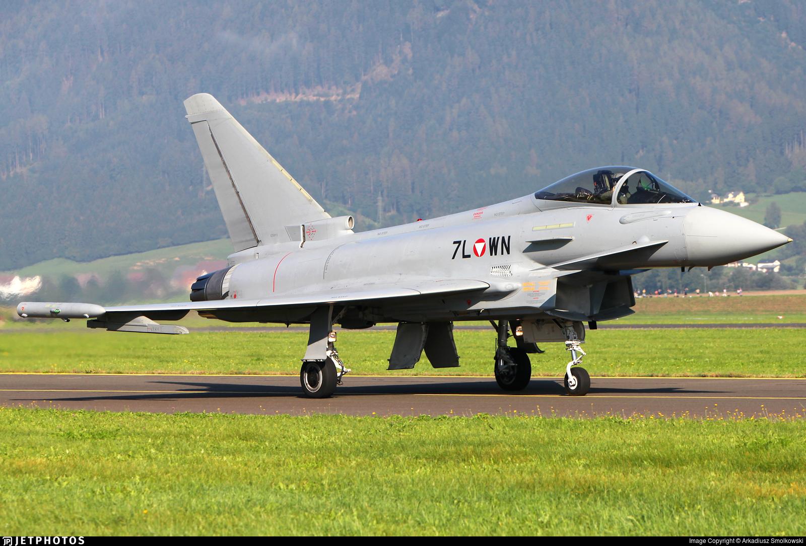 7L-WN - Eurofighter Typhoon EF2000 - Austria - Air Force