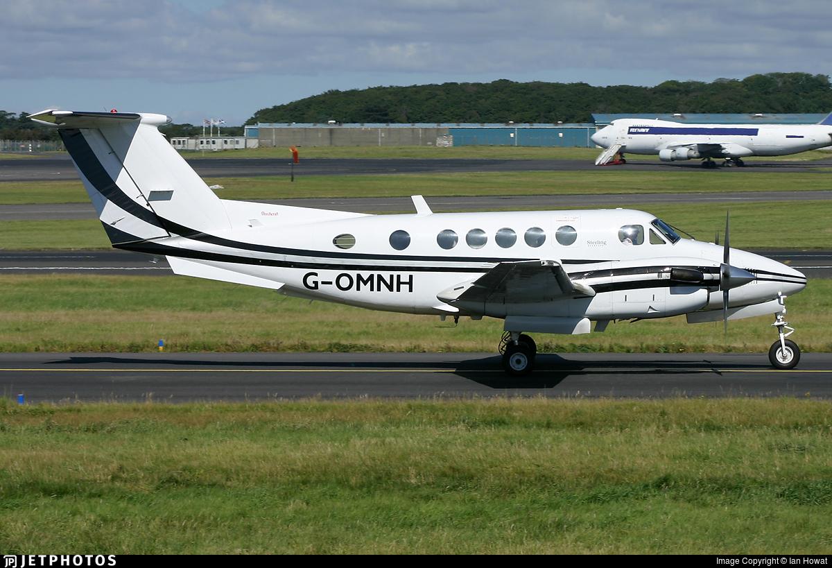 G-OMNH - Beechcraft 200 Super King Air - Air Charter Scotland