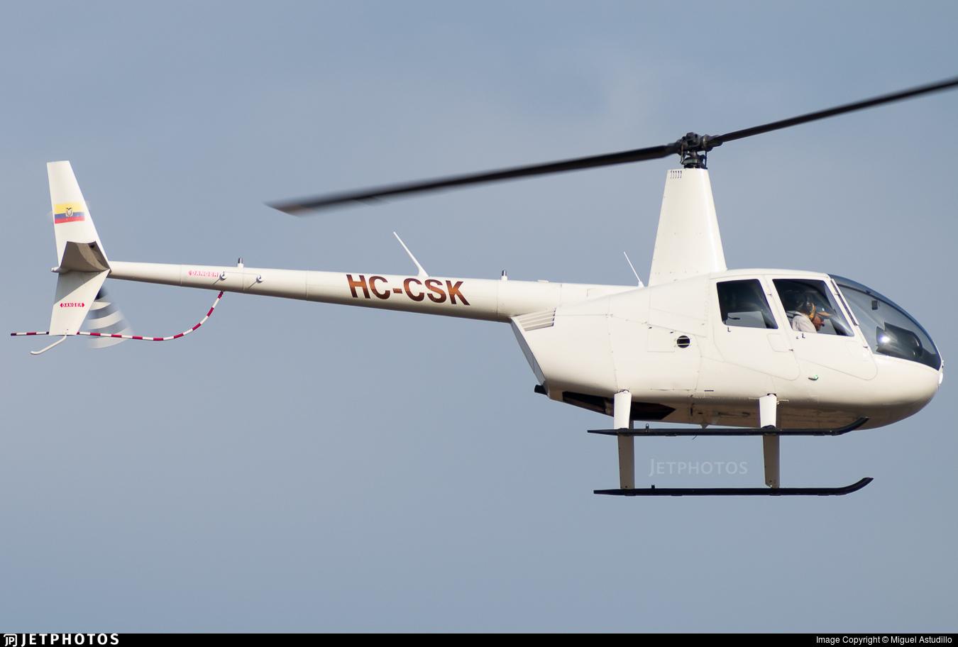 HC-CSK - Robinson R44 Raven II - Aircamaron