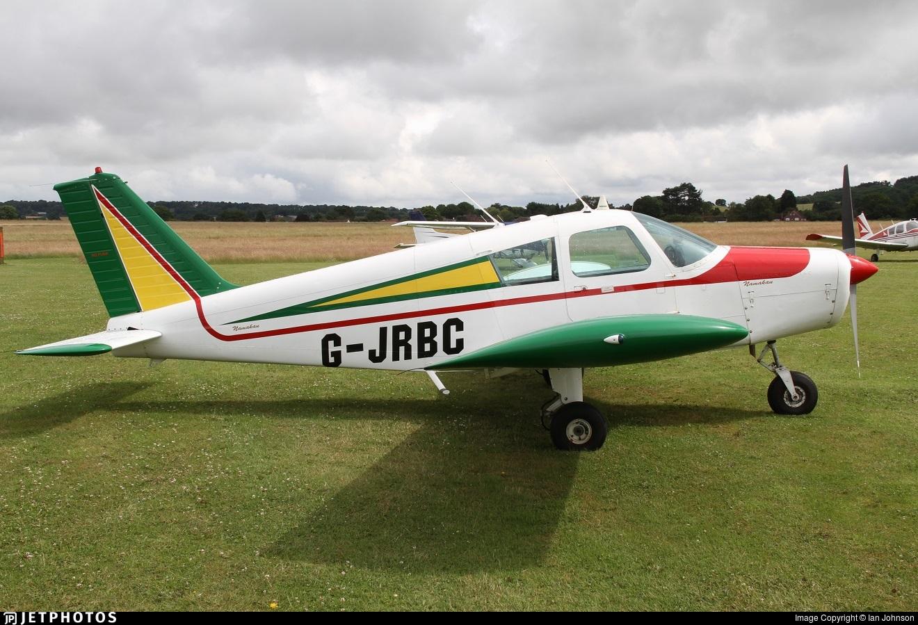 G-JRBC - Piper PA-28-140 Cherokee - Private