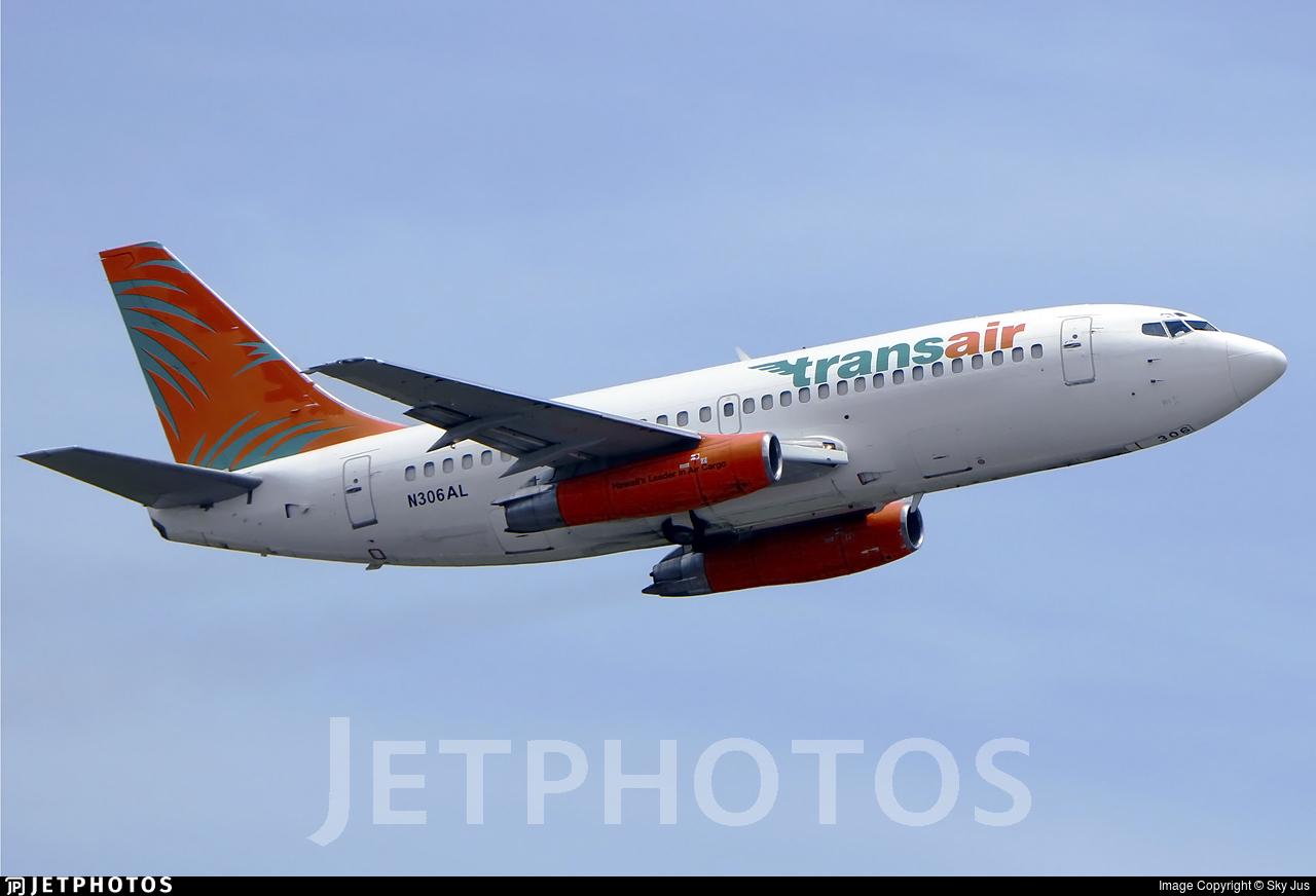 N306AL - Boeing 737-2T4C(Adv) - Transair