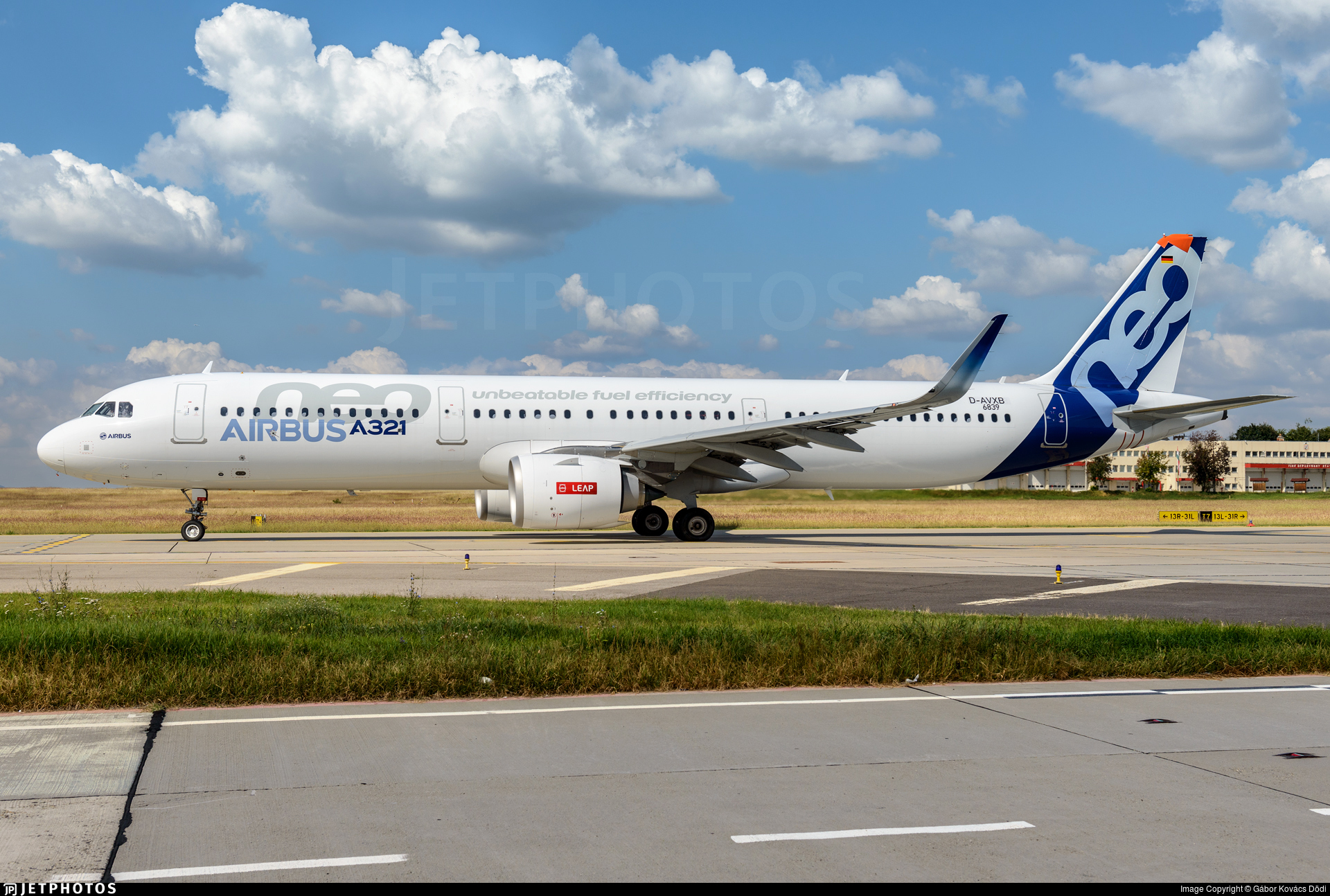 D-AVXB - Airbus A321-251N - Airbus Industrie