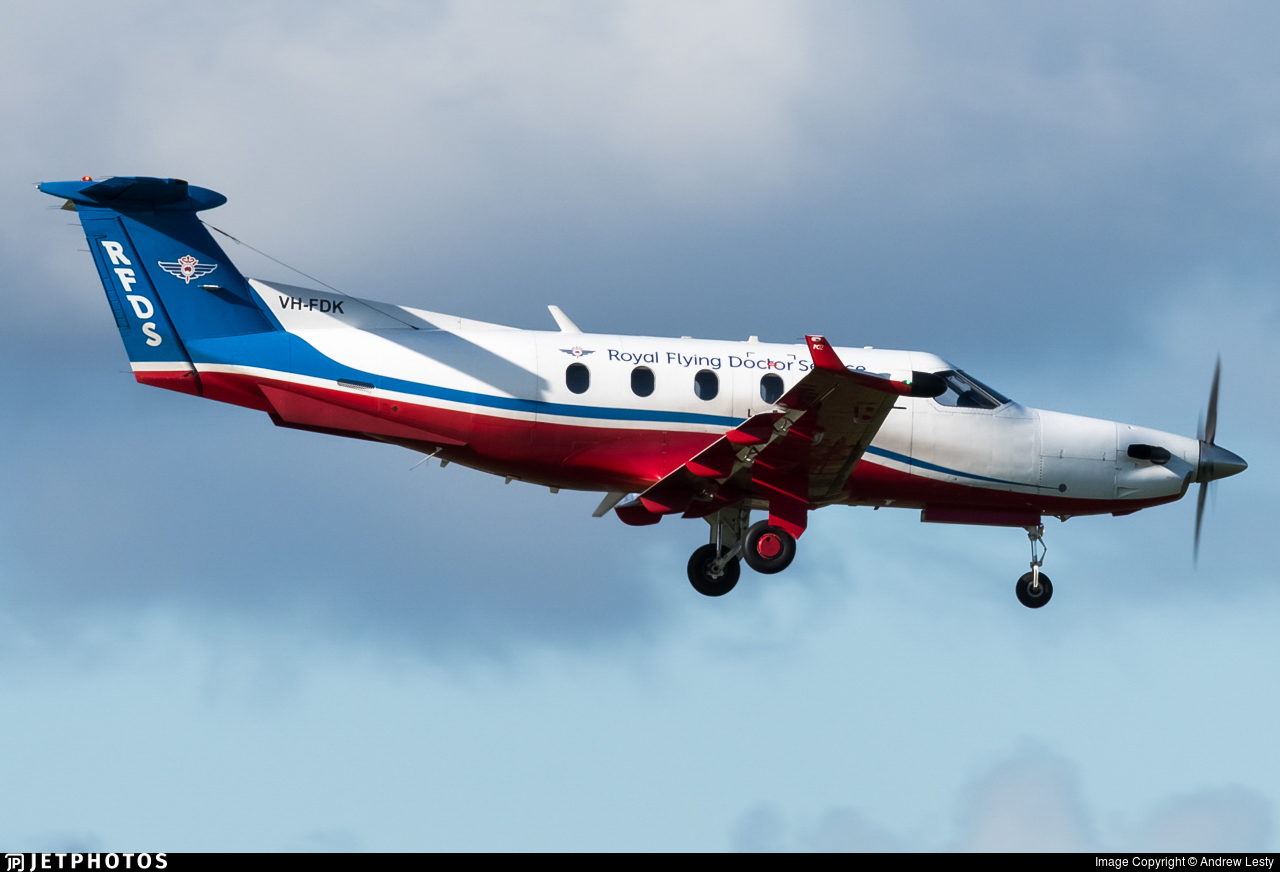 VH-FDK - Pilatus PC-12/45 - Royal Flying Doctor Service of Australia (Central Section)