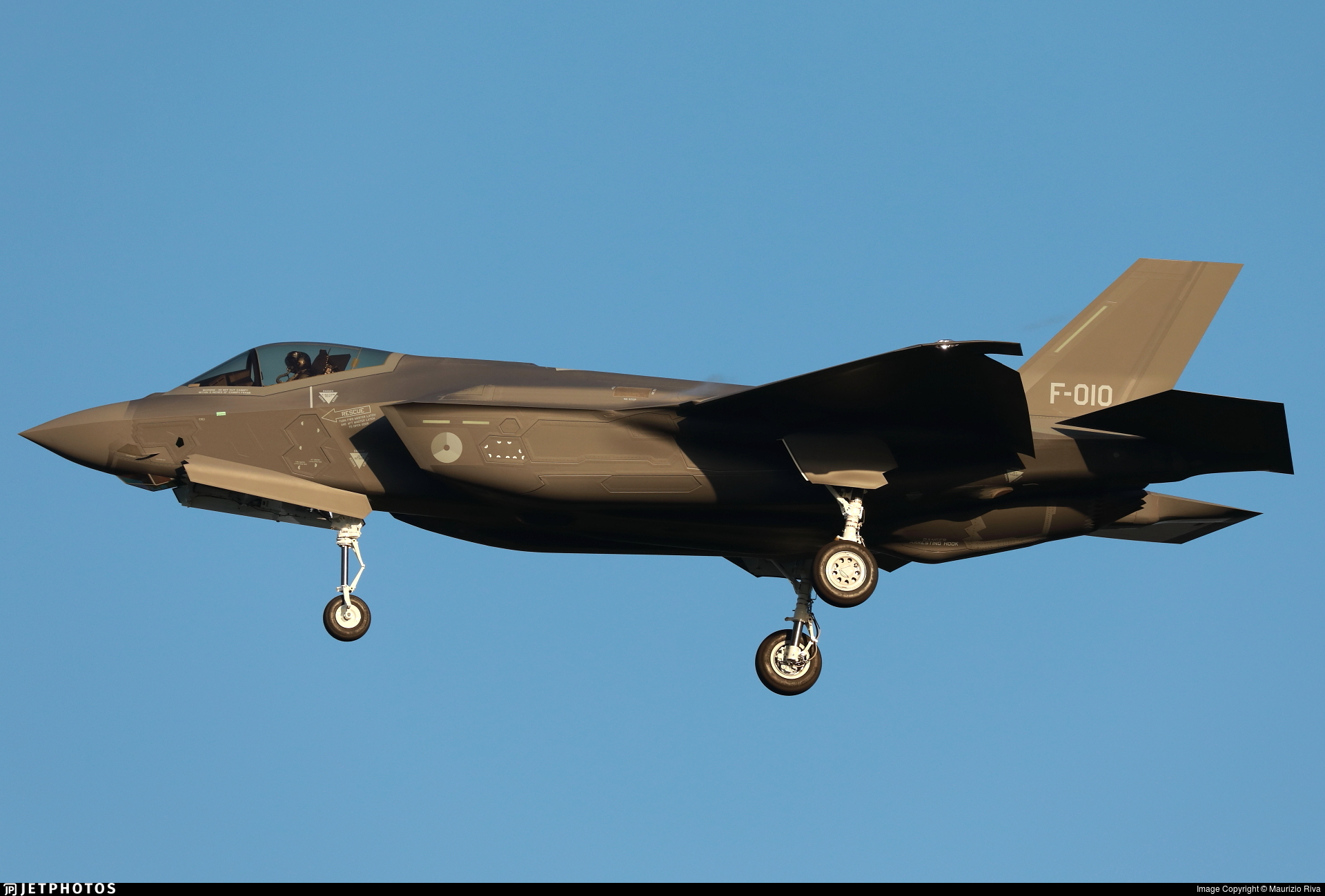 F-010 - Lockheed Martin F-35A Lightning II - Netherlands - Royal Air Force