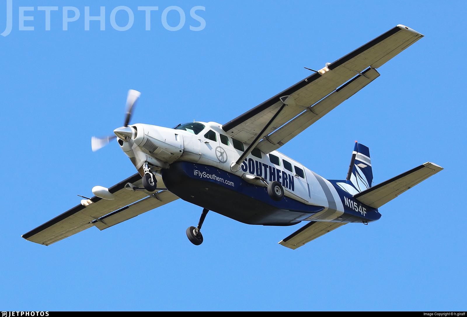 N1154F - Cessna 208B Grand Caravan - Southern Airways Express