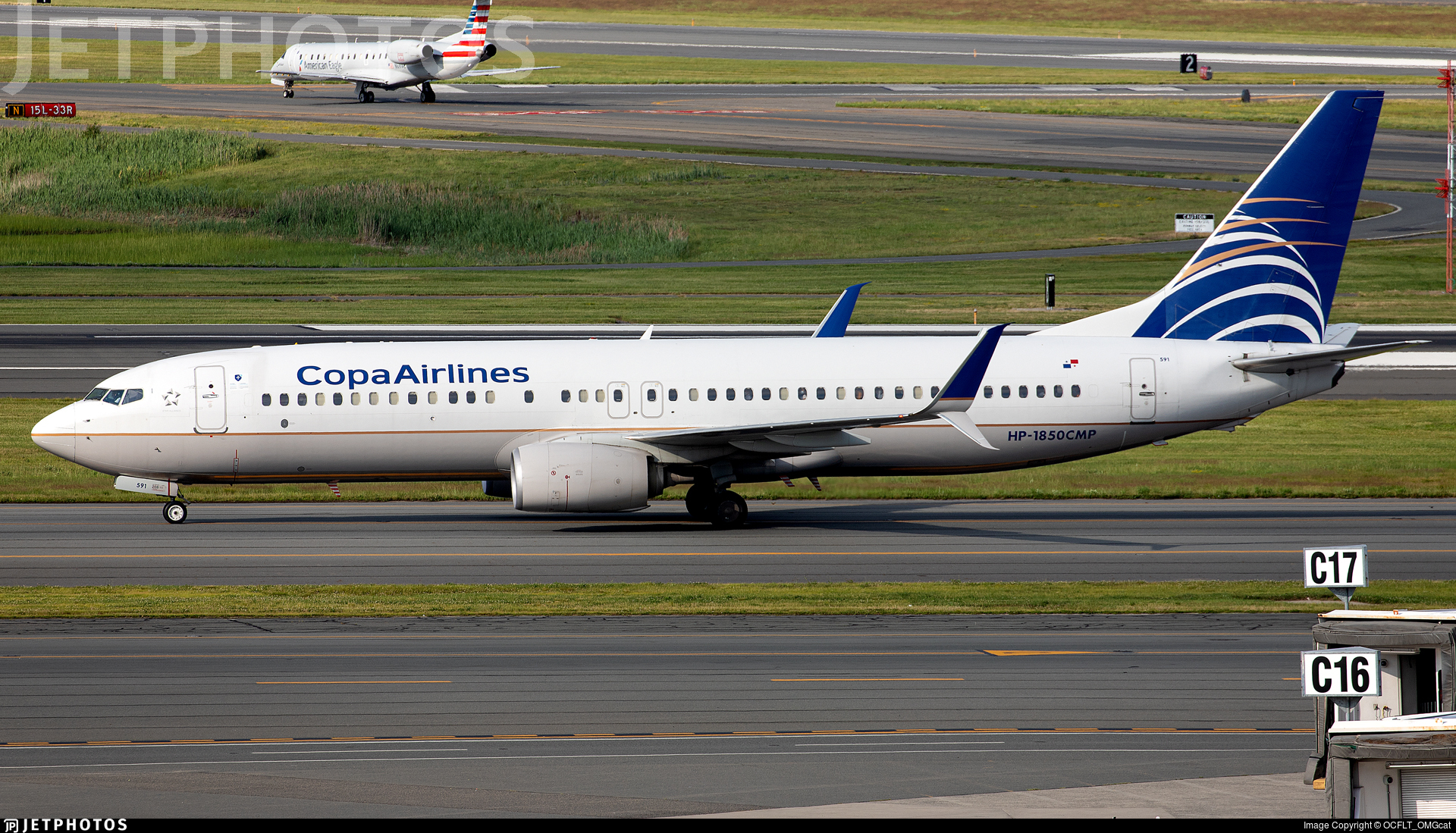 HP-1850CMP - Boeing 737-8V3 - Copa Airlines