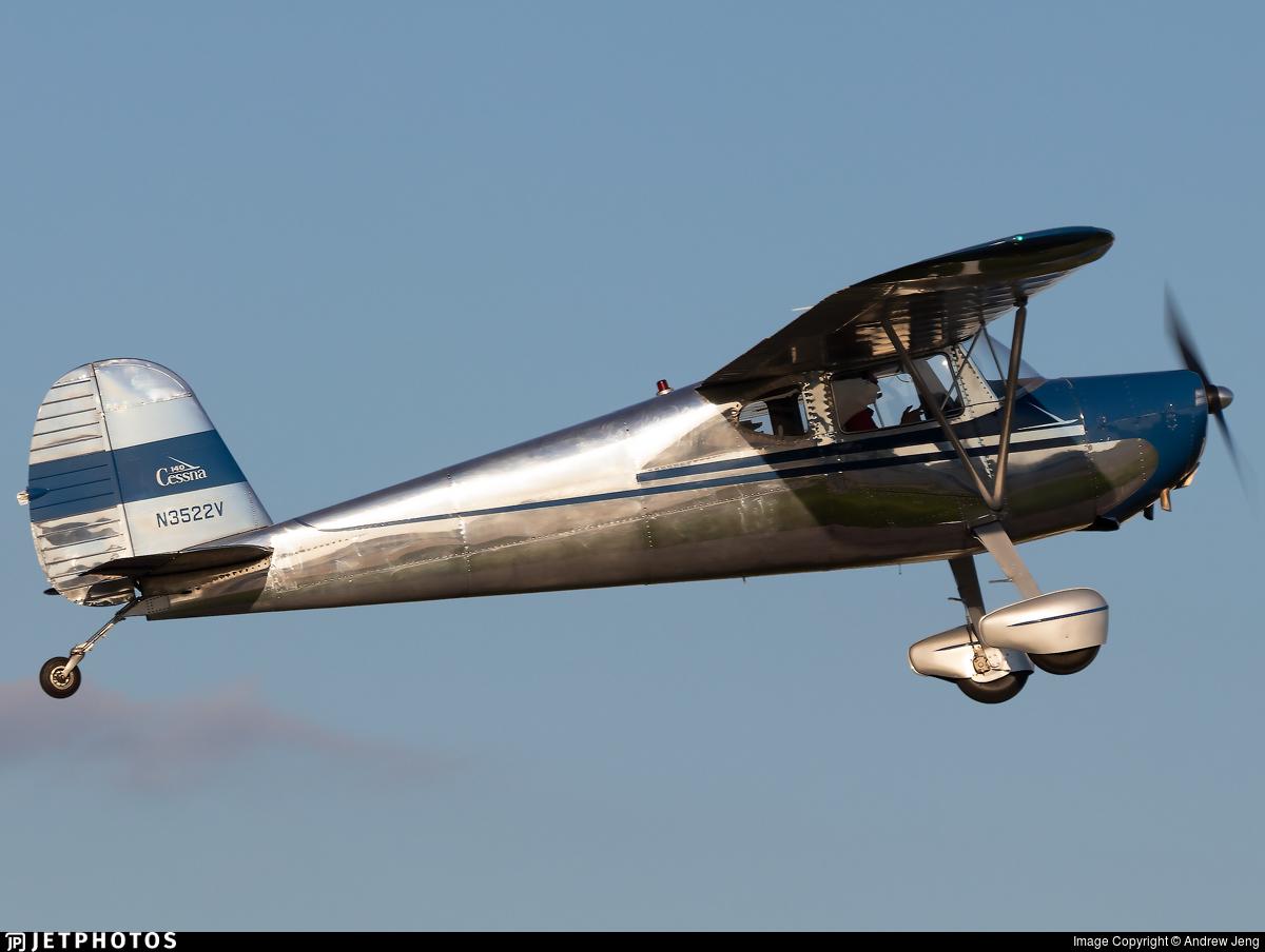 N3522V - Cessna 140 - Private