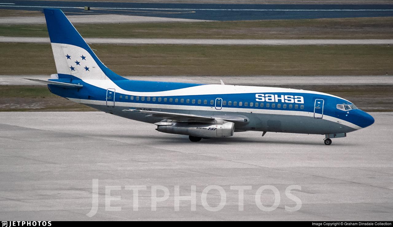 HR-SHP - Boeing 737-2H6(Adv) - Tan Sahsa