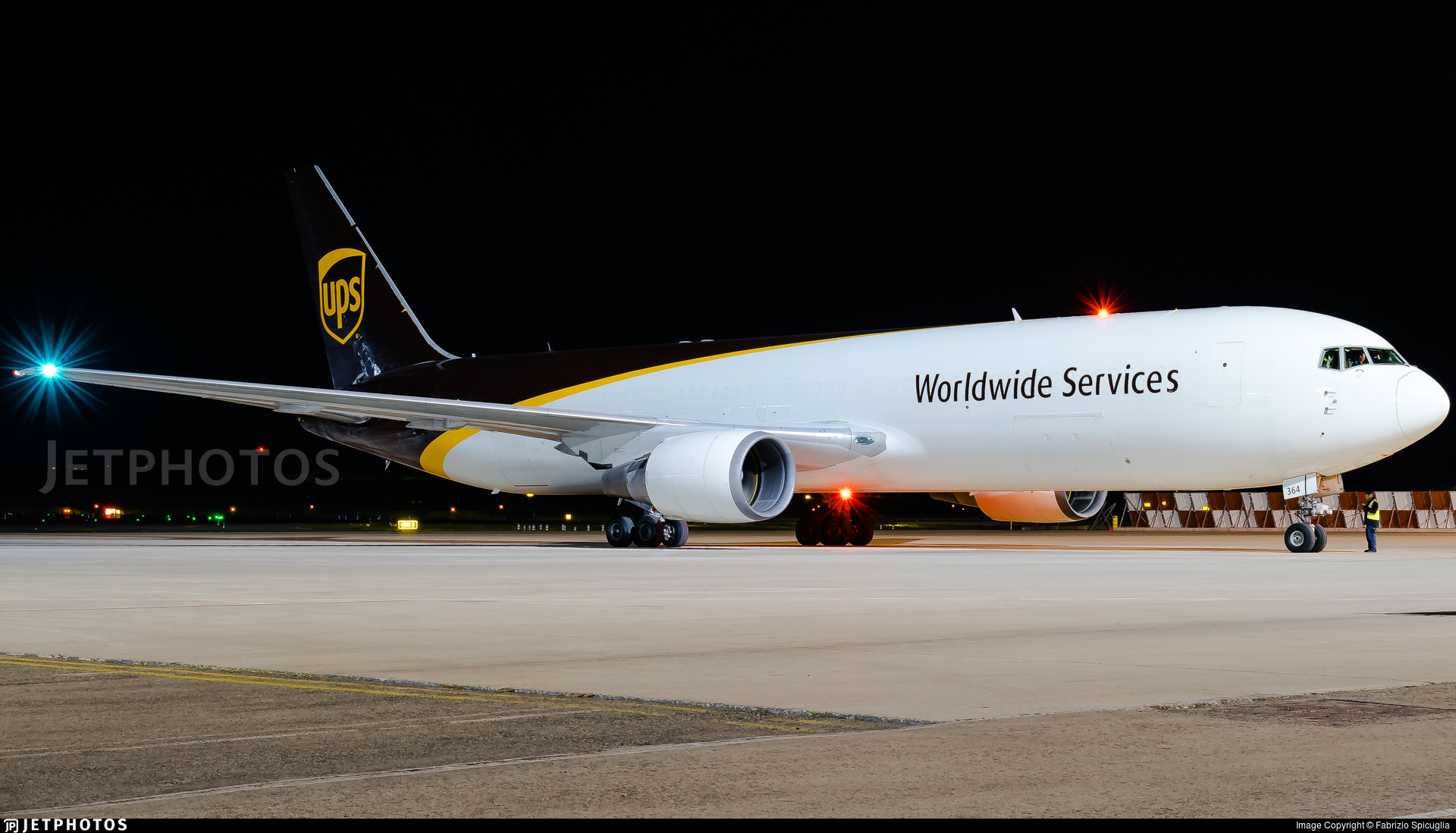 N364UP - Boeing 767-346(ER)(BCF) - United Parcel Service (UPS)