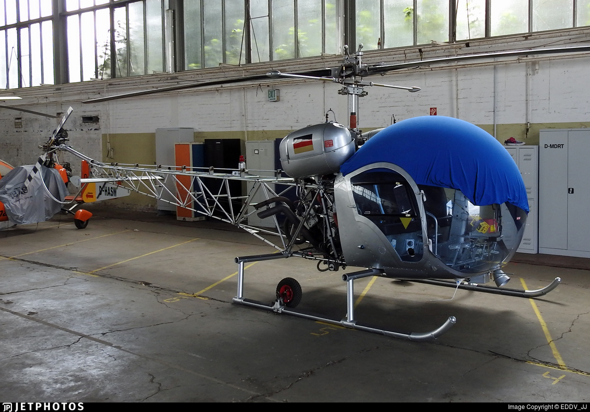 D-HASW - Bell 47 - Private