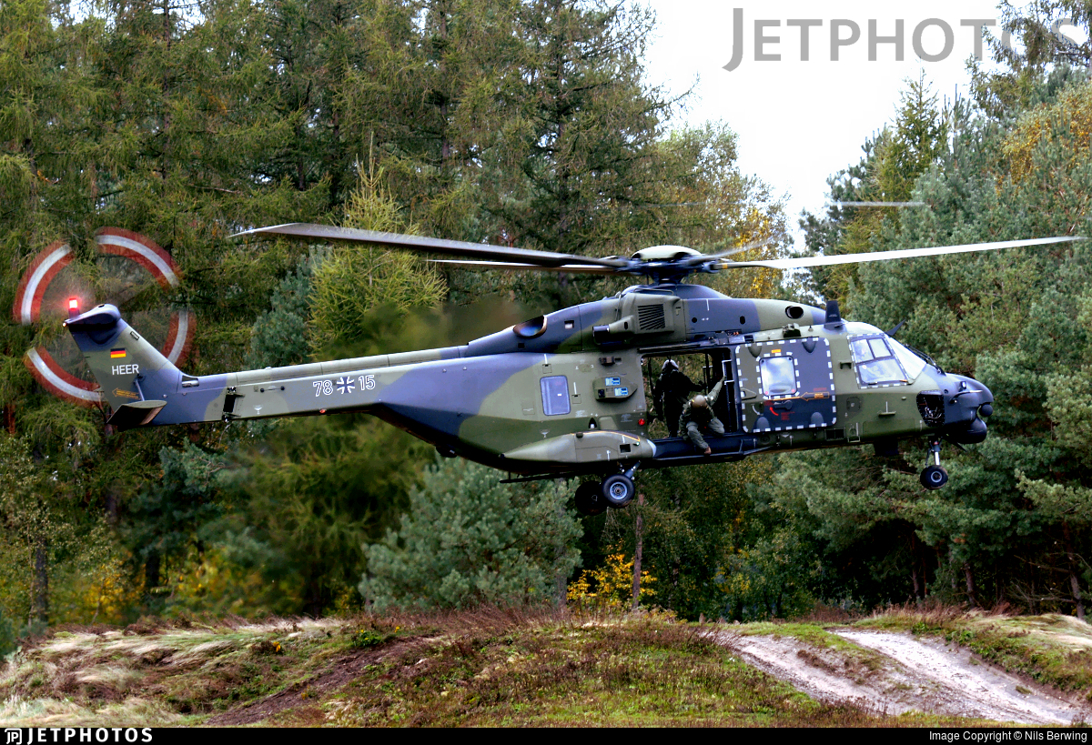 78-15 - NH Industries NH-90TTH - Germany - Army