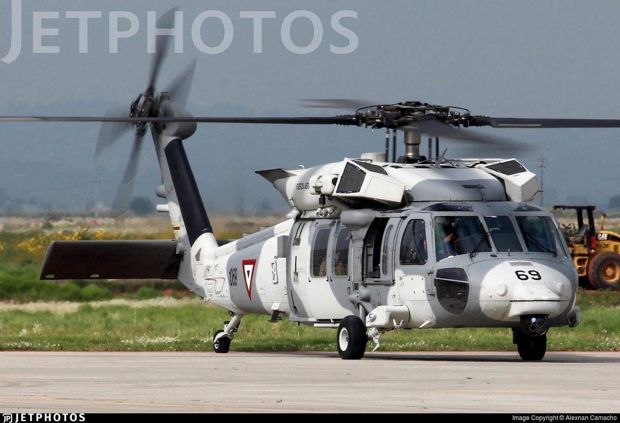 1069 - Sikorsky UH-60M Blackhawk - Mexico - Air Force