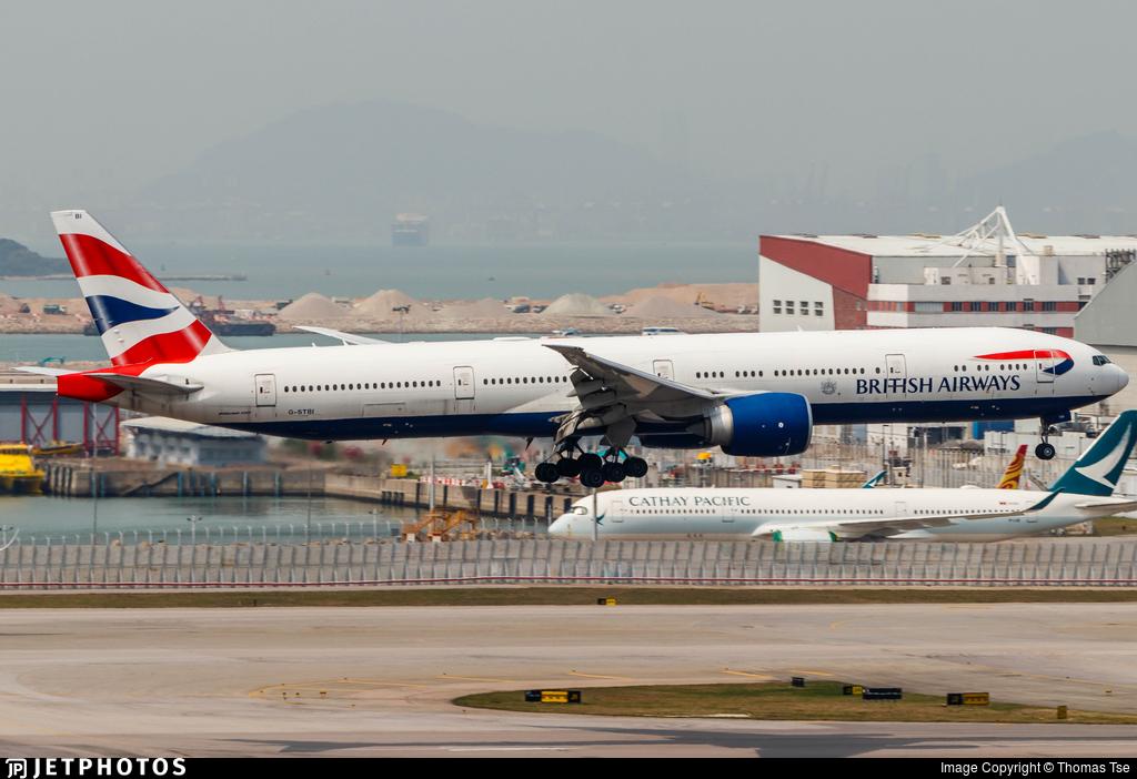 G-STBI - Boeing 777-336ER - British Airways