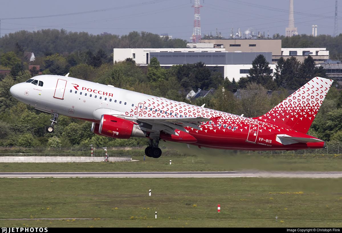 VP-BIS - Airbus A319-112 - Rossiya Airlines