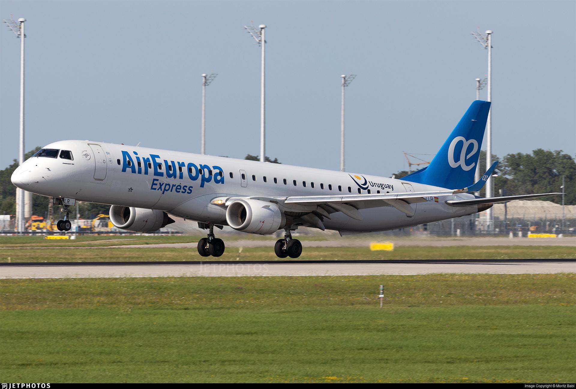 EC-LLR - Embraer 190-200LR - Air Europa Express