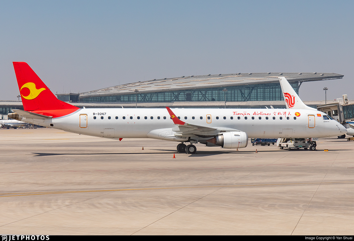 B-3267 - Embraer 190-200LR - Tianjin Airlines