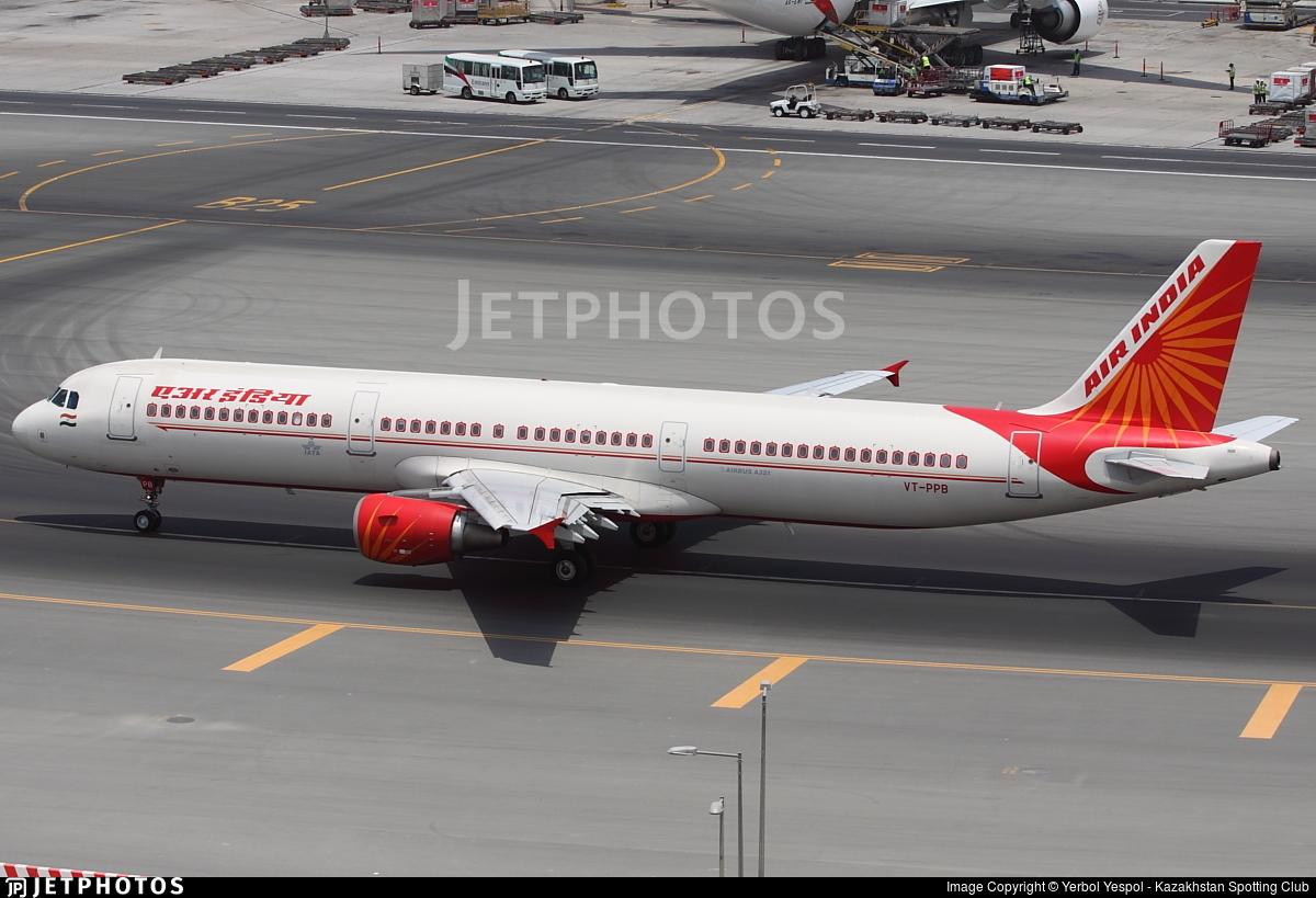 VT-PPB - Airbus A321-211 - Air India