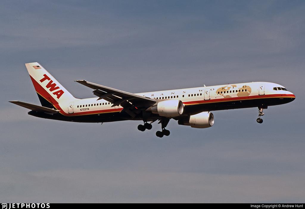 N703TW - Boeing 757-2Q8 - Trans World Airlines (TWA)