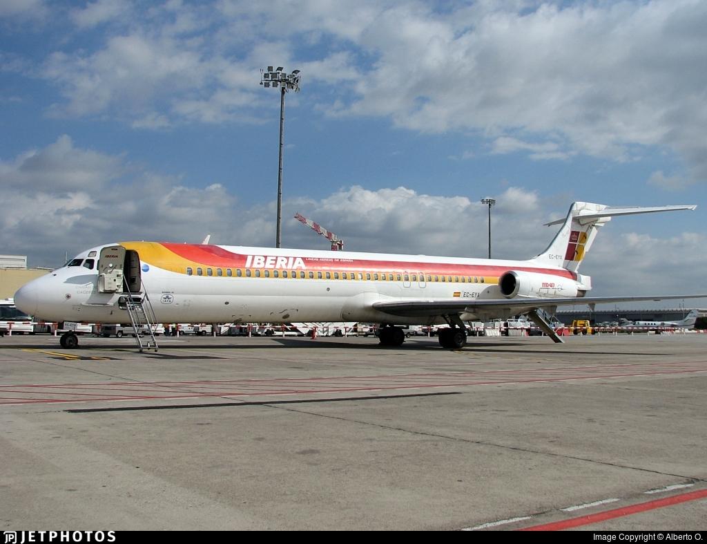 EC-EYX - McDonnell Douglas MD-87 - Iberia