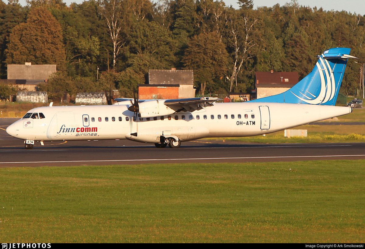 OH-ATM - ATR 72-212A(500) - Finncomm Airlines