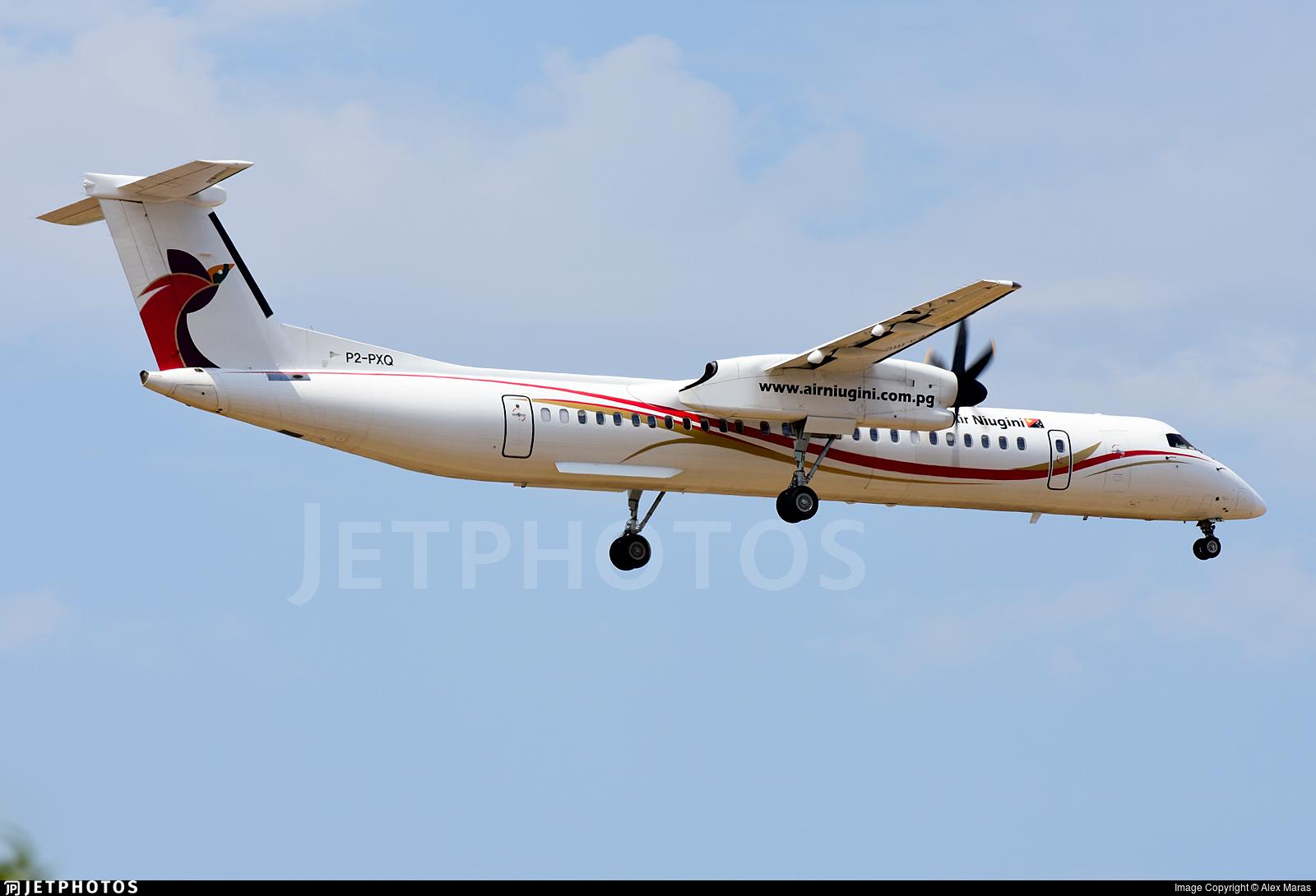 P2-PXQ - Bombardier Dash 8-Q402 - Air Niugini