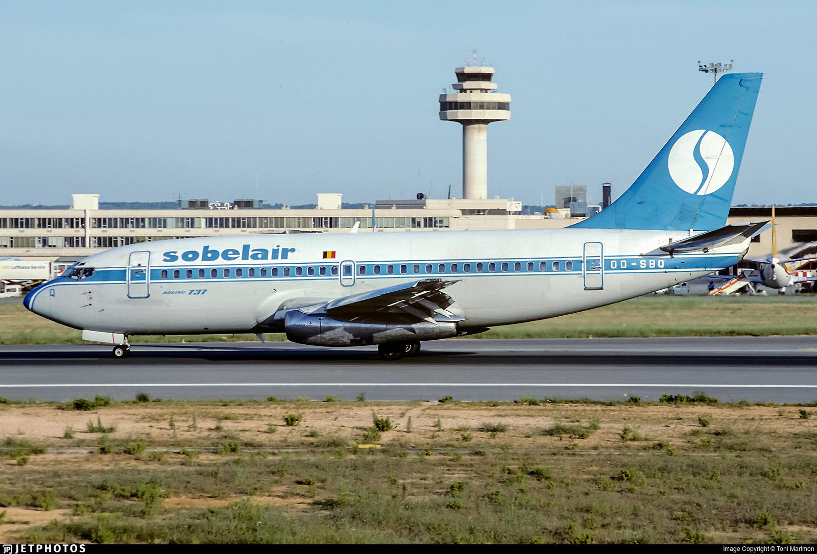 OO-SBQ - Boeing 737-229(Adv) - Sobelair